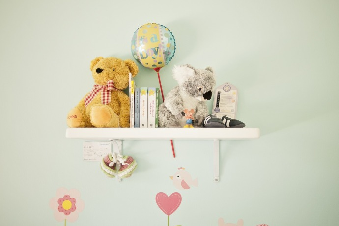 Nursery Wardrobe Organisation - The Konmari Method